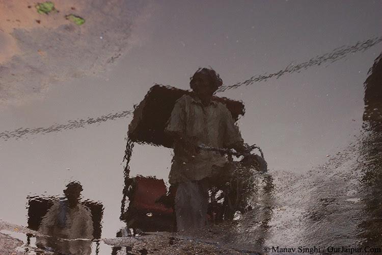 Jaipur Reflection after rains