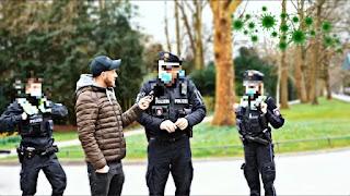 Hamburgs Polizei steht auf und äußert sich | Corinna Straßenumfrage 18