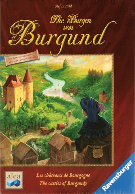 ZZAS 桌遊小徑: The Castle of Burgundy 勃根地城堡《開箱&簡易規則》