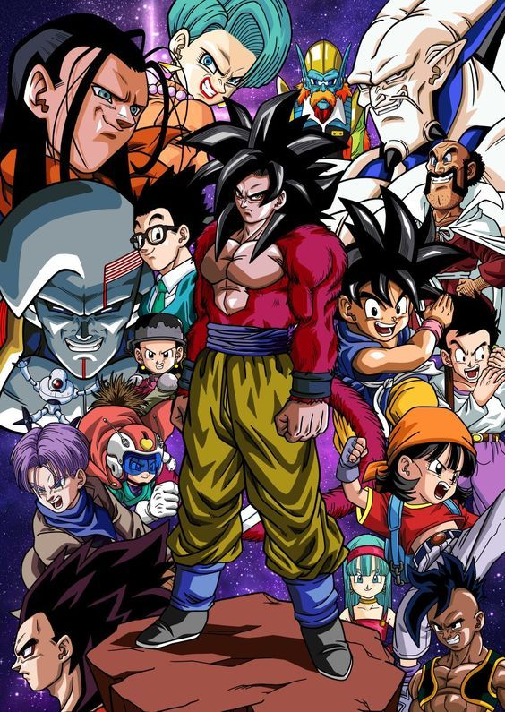 Dragon Ball GT  21/64   Audio Latino   120 MB   DVD Ligero 480p   Mega 