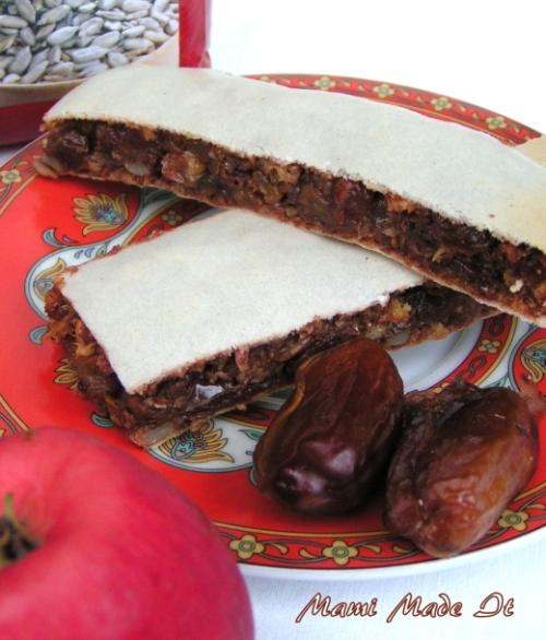 Homemade Granola Bars - Selbstgemachte Müsliriegel