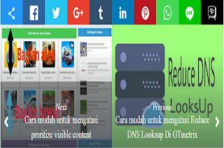 Post pager newer link berfungsi untuk menerangkan Artikel sebelum dan setelah artikel yang  Cara menciptakan tombol Next post / post pager newer di sertai gambar(thumbnail)