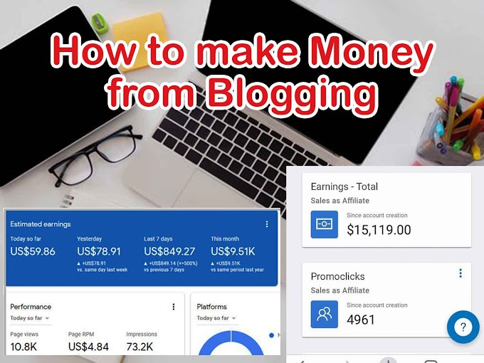 how to start a successful blog and make money from home