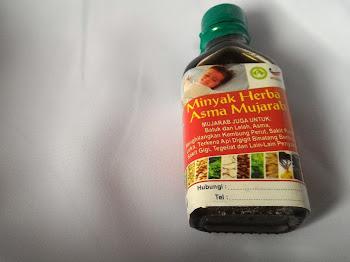 Jangan Tertipu Dengan Minyak Herba Asma Mujarab Tiruan!