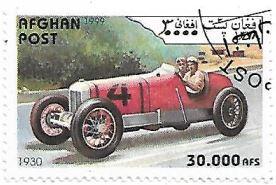 Selo Carro de corrida 1930