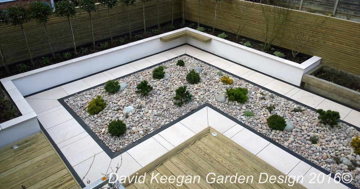 David keegans garden design blog a small suburban back for Modern back garden designs