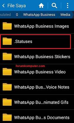 Cara Menyimpan Foto Dan Video Status Whatsapp Orang Lain Ke Galery HP 100% Berhasil