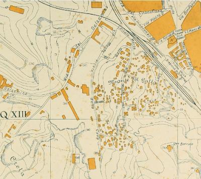 Monte del Gallo Mappa 1934