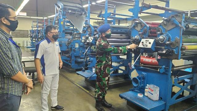 Komandan Lanud Sam Ratulangi Sambangi Tribun Manado
