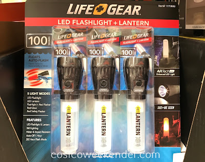 Life Gear LED Flashlight and Lantern