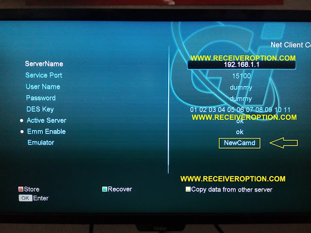 NEOSAT 550HD RECEIVER CCCAM OPTION