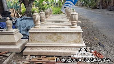 Produk Kijing Marmer Tulungagung, Model Kijing Kuburan, Contoh Makam Marmer