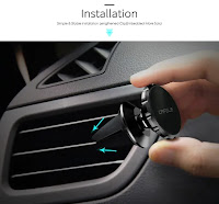 Air vent mobile holder