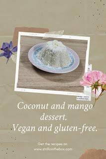 budino cocco mango vegan
