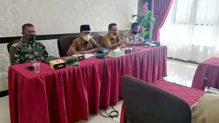 Rapat koordinasi kesiapan melaksanakan kegiatan basapa