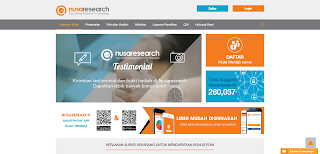 Gambar Screenshot Nusaresearch