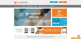 Gambar Screenshot Nusaresearch