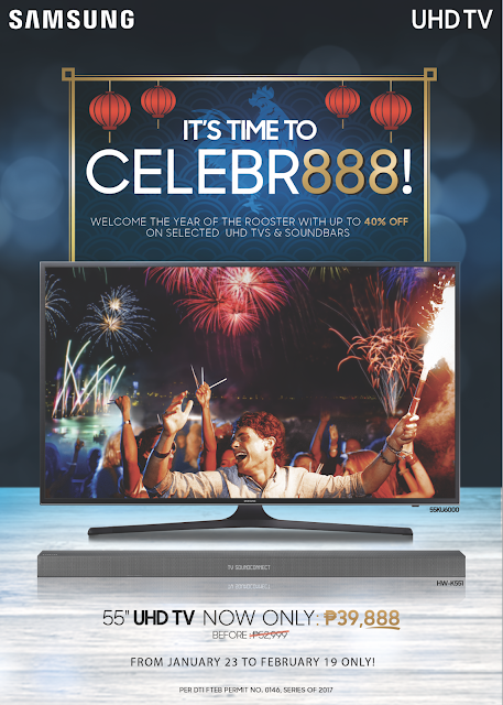 CELEBRATE CHINESE NEW YEAR WITH SAMSUNG UHD TV
