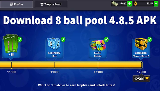 Download 8 ball pool 4.8.5 APK