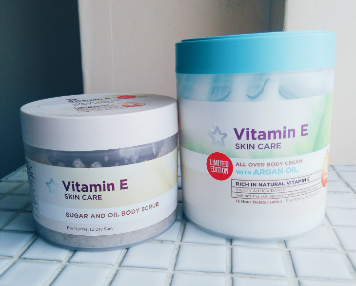Superdrug Vitamin E Bodycare Duo