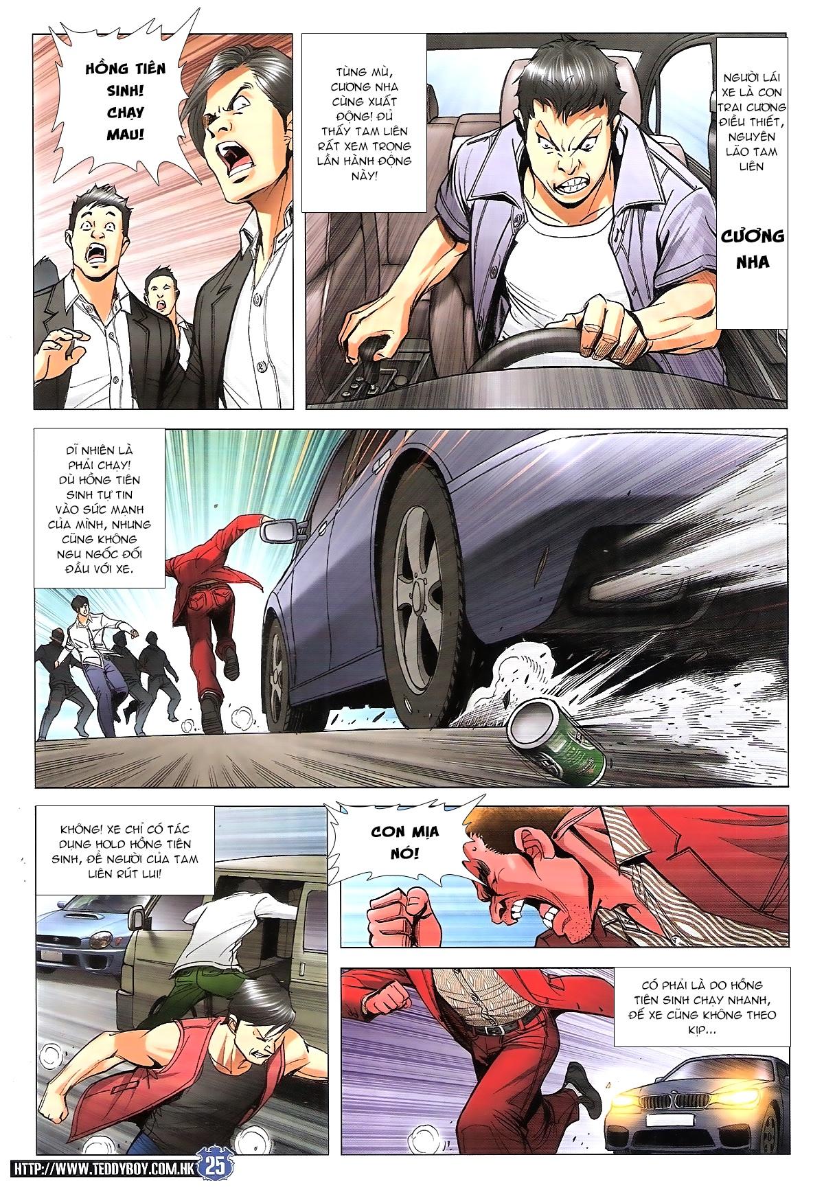 Người Trong Giang Hồ chapter 1807: hồng tiên sinh trang 24