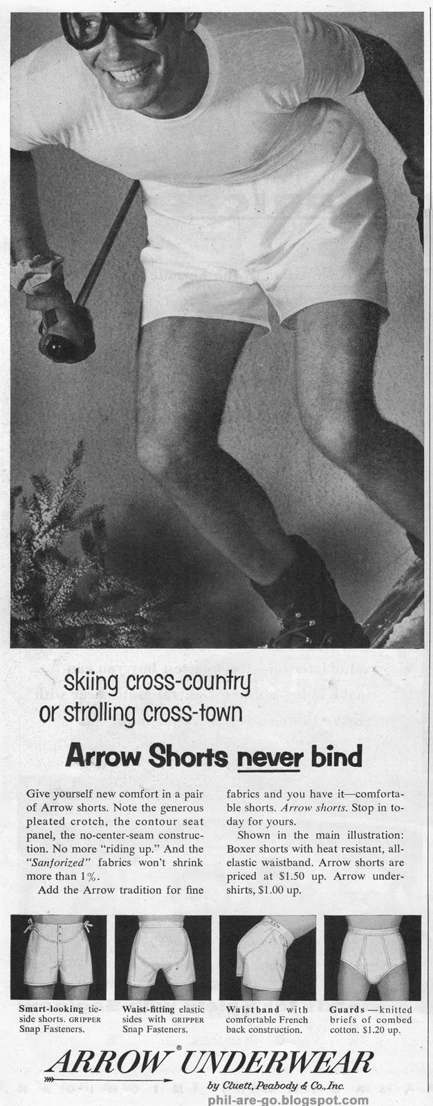 Phil Are Go!: Arrow Underwear - Riding high