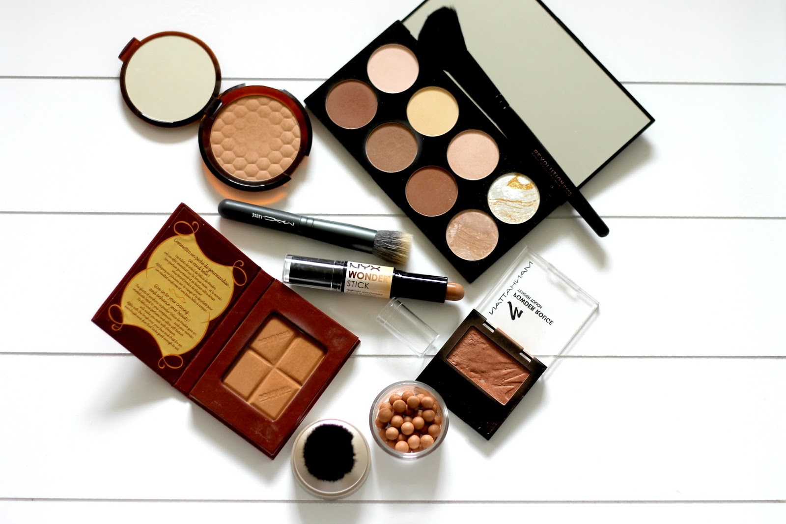 6 Drugstore Bronzers For Pale Skin Review & Swatches