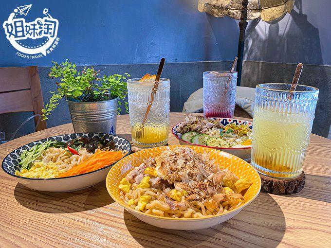 最文青又可愛的巷弄美食,點水果冰茶&舒芙蕾當下午茶,每個角落都可以拍照的網美打卡店-魚&吉