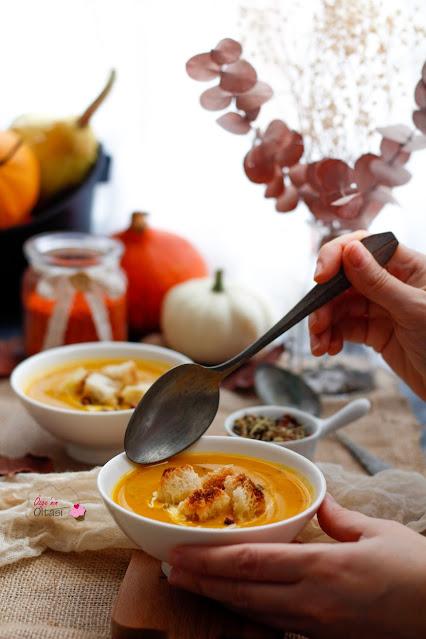 Mercimekli Balkabağı Çorbası