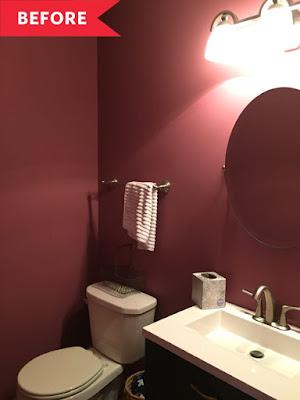 banheiro reformado sem gastar muito idéias