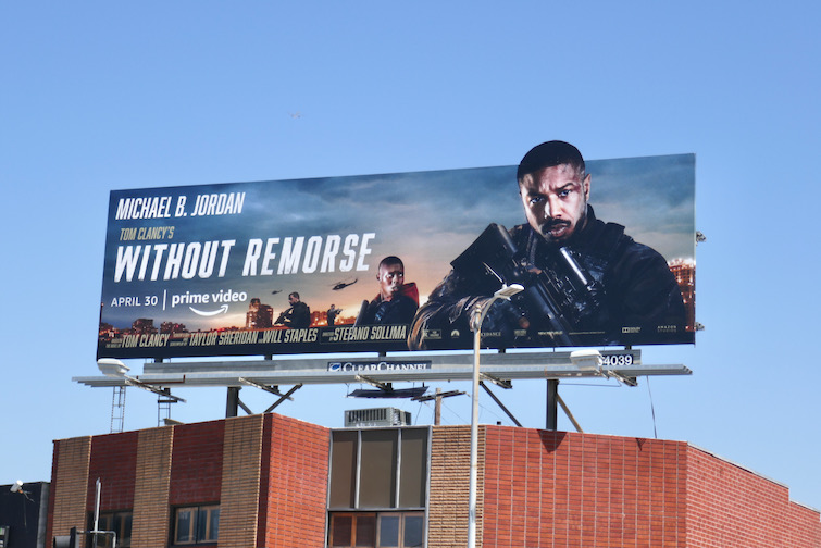 Without Remorse extension cutout billboard
