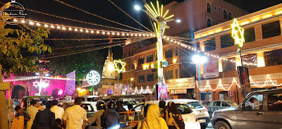 Johri bazar light decoration
