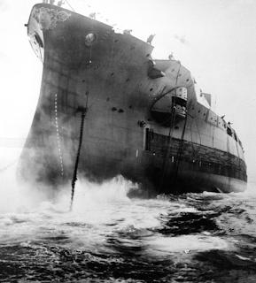 El mar en la literatura, Guerra Mundial, Navíos