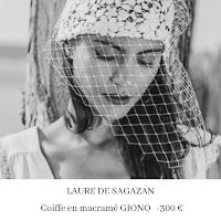 coiffe en macramé et voilette laure de sagazan blog mariage unjourmonprinceviendra26.com