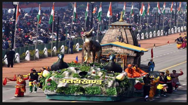 उत्तराखंड समाचार: गणतंत्र दिवस पर दिखाई गई उत्तराखंड की झांकी को मिला तीसरा पुरस्कार।