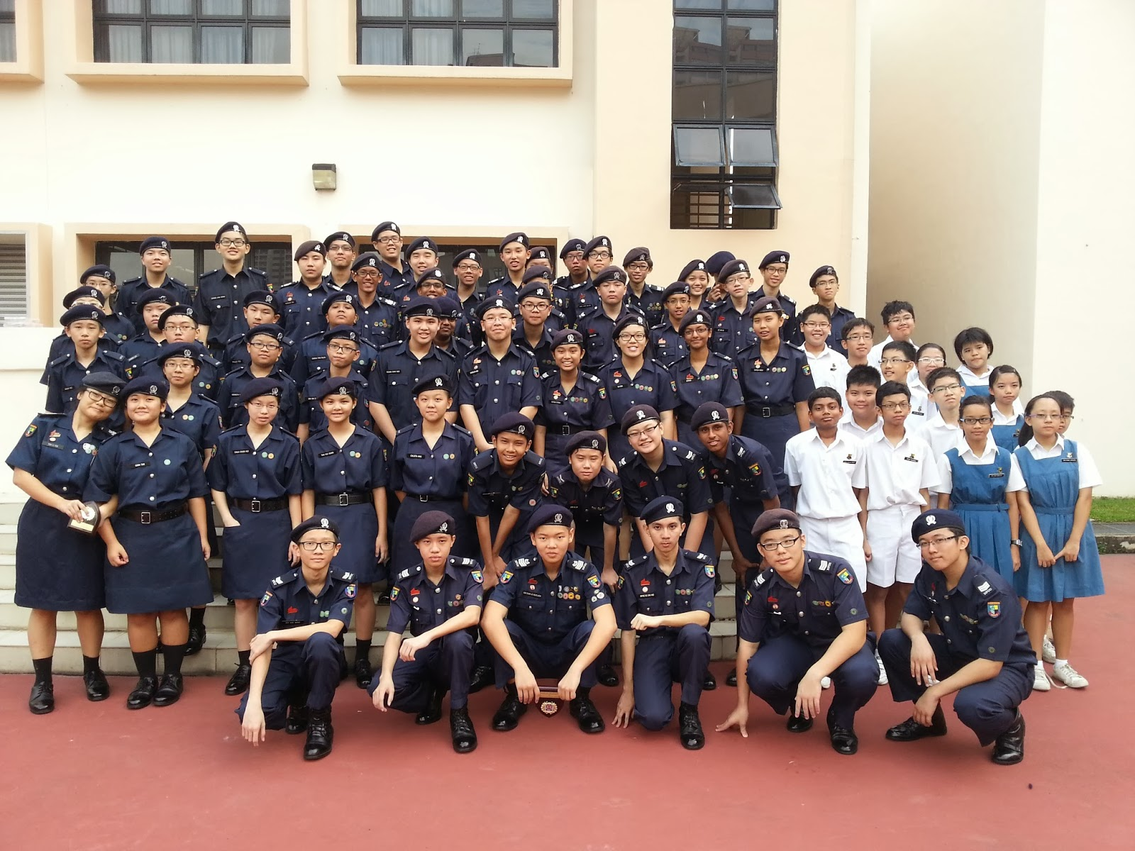 Anderson Secondary School NPCC Unit: Photos of 2013