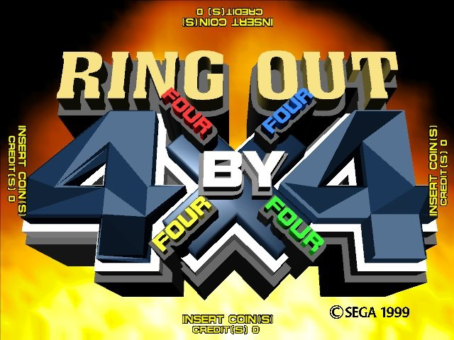 Ring Out 4x4 Rom