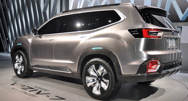 2018 subaru viziv. simple viziv 2018 subaru viziv 7 rear view intended subaru viziv t