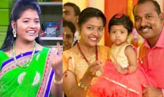 Comedy Junction Anna Bharathi Family with Husband
