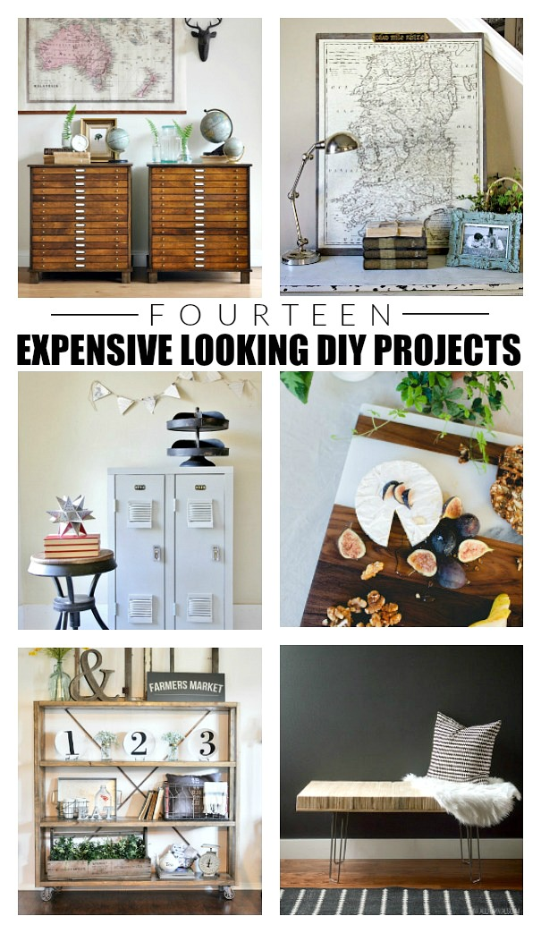 Expensive looking DIY projects