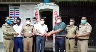 জেলা মাদকদ্রব্য নিয়ন্ত্রণ অফিসে জীবাণুনাশক স্প্রে গেট-এর উদ্বোধন