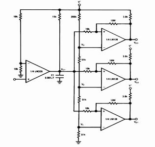 LM339 Time Delay Generator Circuit Diagram and Datasheet