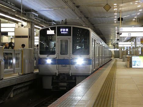【ダイヤ改正で新設】1000形FCLED車の快速急行 伊勢原行き
