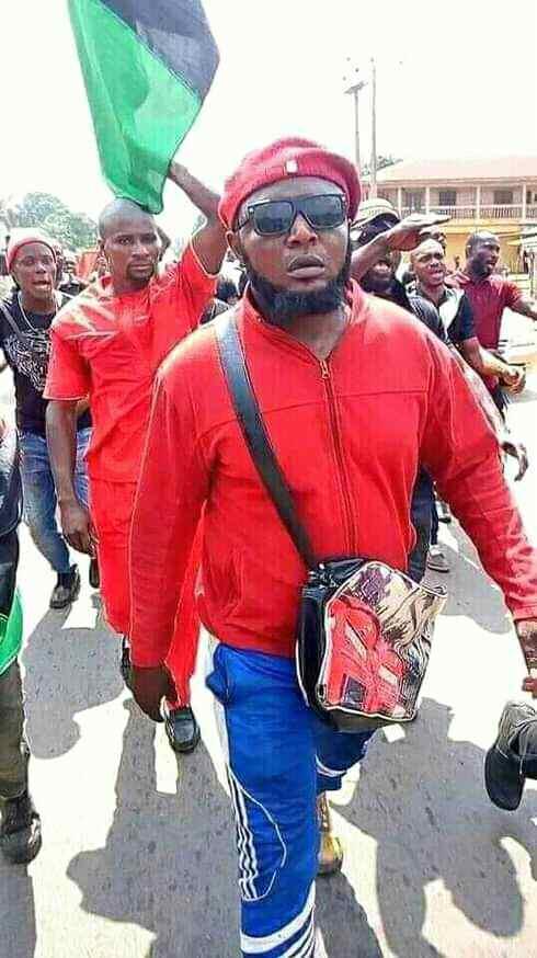 Nnamdi Kanu immortalises Ikonso in Imo