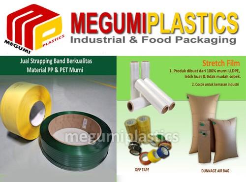 Megumiplastics Pusat Grosir Strecth Film, Plastik Wrapping di Bekasi