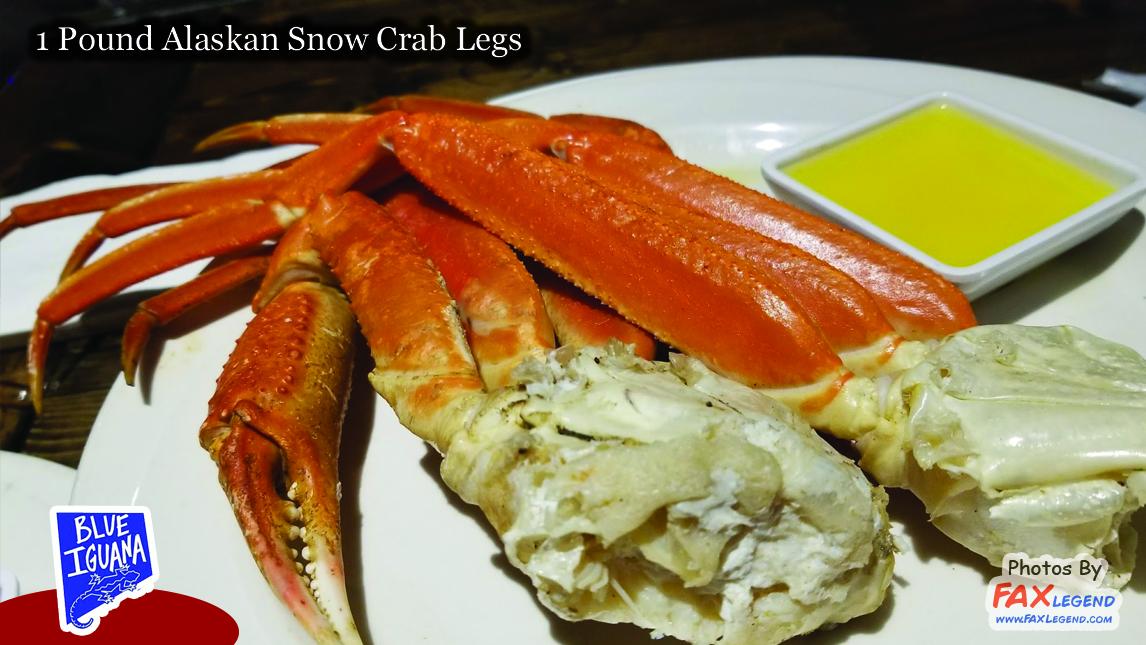 Blue Iguana Seafood Night Wednesdays - Crab Legs & Peel n' Eat Shrimp