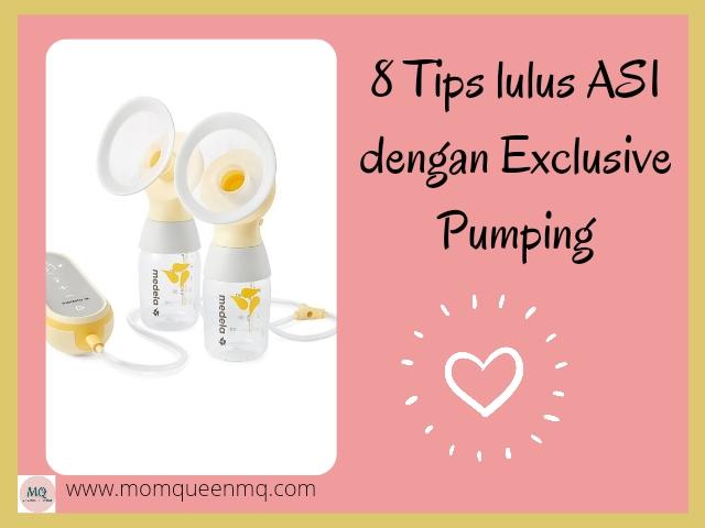 8 Tips lulus ASI dengan Exclusive Pumping