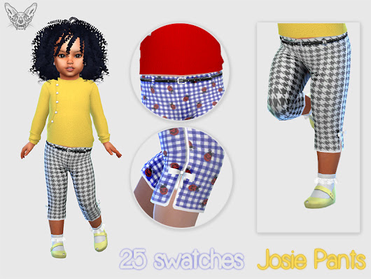Toddlers Josie Cropped Pants