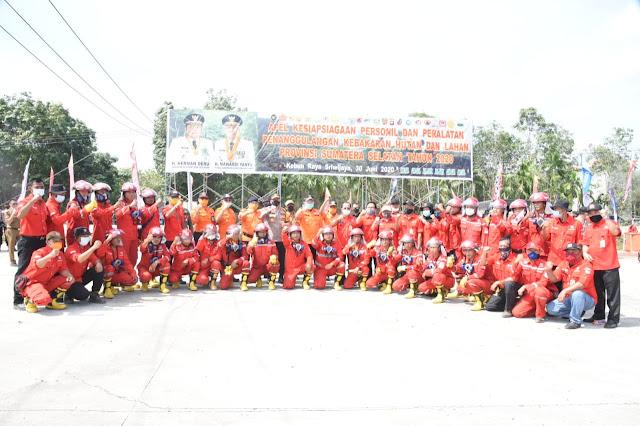 Cegah Karhutla, Herman Deru Gelontorkan Bantuan Rp 45 Miliar ke 10 Kabupaten
