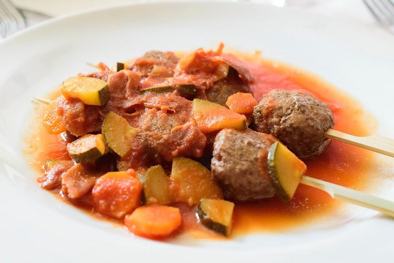 Albóndigas con tomate fit